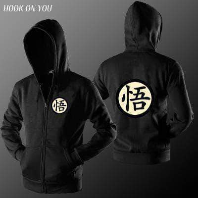 Adult Zip Hooded Sweatshirt 【Goku】5 Color Available