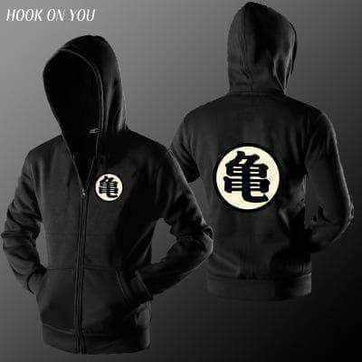 Adult Zip Hooded Sweatshirt 【Son Goku 】5 Color Available
