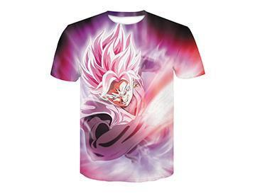 【Authentic Guarantee】Dragon Ball series 3D printing T -Shirts #style16
