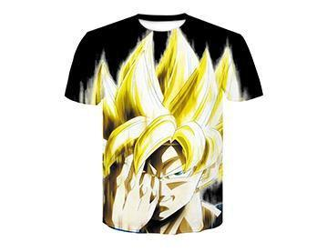 【Authentic Guarantee】Dragon Ball series 3D printing T -Shirts #style26