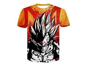 【Authentic Guarantee】Dragon Ball series 3D printing T -Shirts #style27
