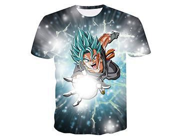 【Authentic Guarantee】Dragon Ball series 3D printing T -Shirts #style3