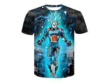 【Authentic Guarantee】Dragon Ball series 3D printing T -Shirts #style5