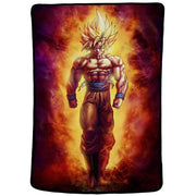 Cartoon orange dragon ball plush blanket sofa throw soft coral fleece blanket children office nap blanket