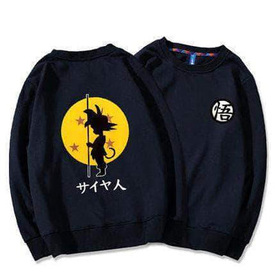 Child Goku Round Neck Sweater 4 Color Available