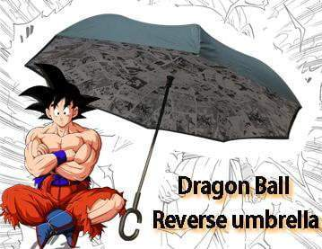 DB-Existsale Dragon Ball Windproof UV Protection Large Upside Down Straight Umbrella - Free shipping