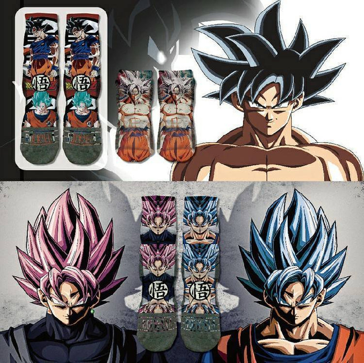 Dragon Ball Super - Unisex - Photoreal Low sports socks (Get 3 Pack Free Shipping)
