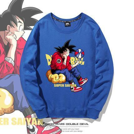 Exclusive Design Dragon Ball Cotton Hoodie