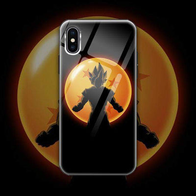 【Exclusive】Dragon Ball Tempered Glass Phone Case