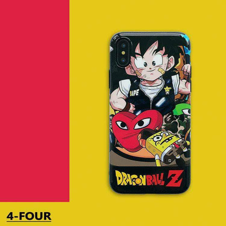 【Silica gel】Dragon ball Z Kwas Fashion Phone Case sON