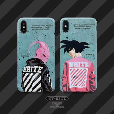 Spoof Son Goku ×Street Style Matt Shell Phone Case