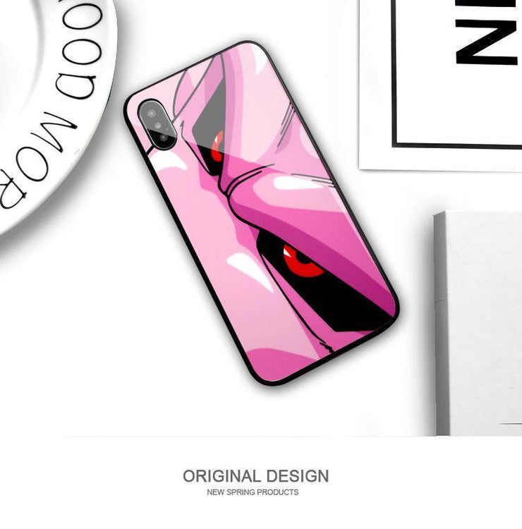 【TEMPERED GLASS】Buu Pink Phone Case