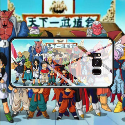 【TEMPERED GLASS】Dragon Ball Family Phone Case