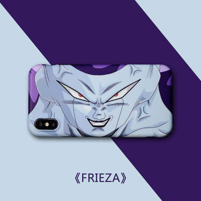 【TEMPERED GLASS】Frieza Purple Phone Case