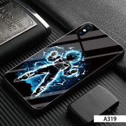 【Tempered glass】Goku Vegeta Colored Drawing Phone Case