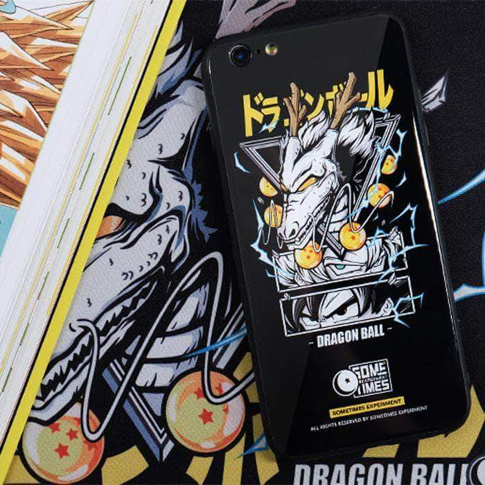 【TMEPERED GLASS】Dragon ball Fairy Dragon Tempered Glass Phone Case