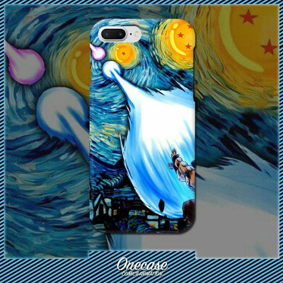 Van Gogh Son Goku PC Hard shell iphone case