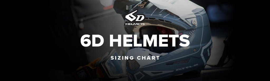 6D Helmets Sizing Chart Guide