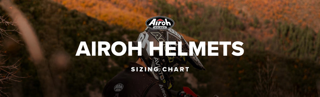 Airoh Helmets Sizing Guide New Zealand
