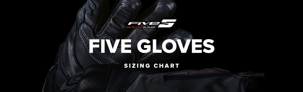 Five Gloves Sizing Chart