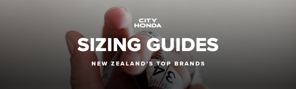 City Honda Manawatu Sizing Guides
