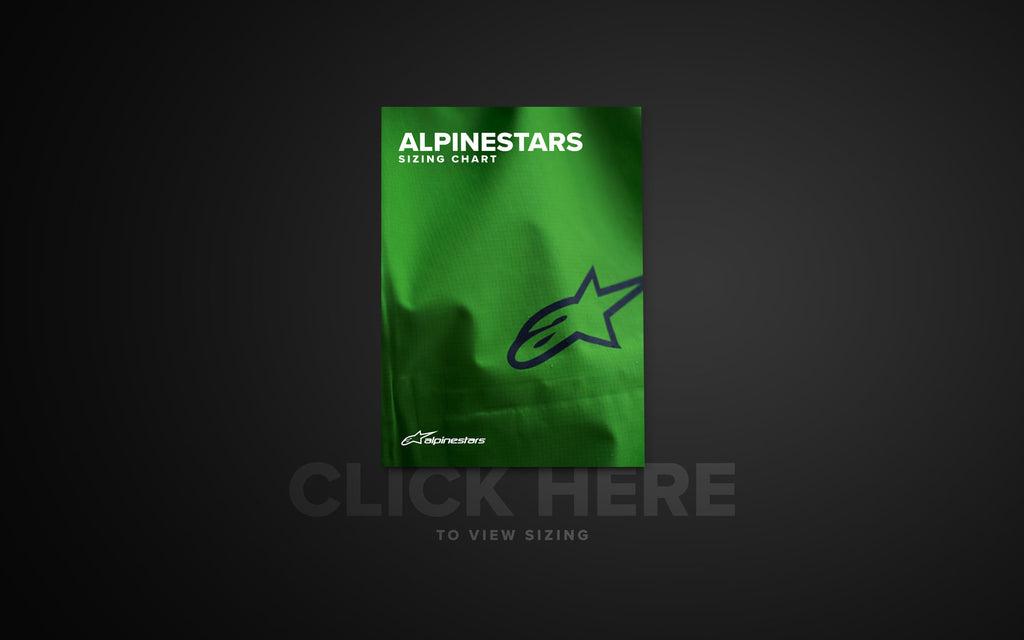 Official Alpinestars Sizing Guide