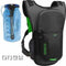 Ogio Atlas 3L hydration pack, in black, comes with a 3L bladder