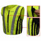 RJ-PREMSV(size) - Rjays Premium Fitted Hi Viz Safety Vest has stretch side panels for a forming fit and 1 front zipper pocket and an automatic locking zipper to prevent unwanted opening while you're riding