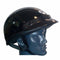 THH T70 half shell gloss black helmet is ideal for farm ATV riders