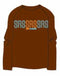 TSL Pure Brown 100% cotton long sleeve t-shirt