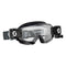 Hustle X MX WFS Goggle Black/ White clear works lens