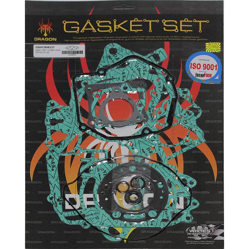 WHITES GASKET SET COMPLETE HON CR125 01-02
