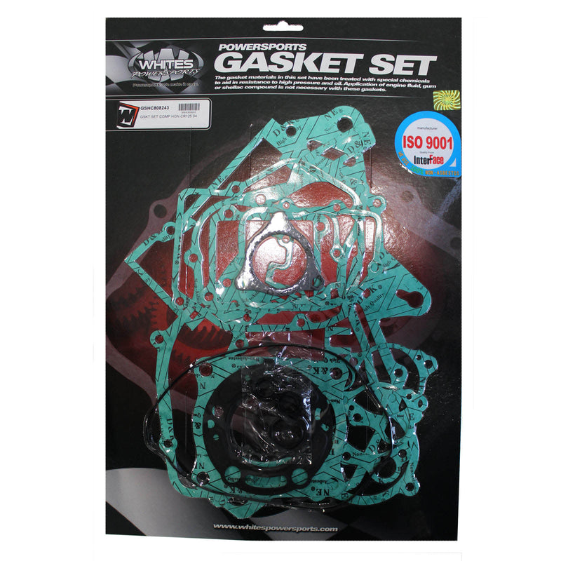 WHITES GASKET SET COMPLETE HON CR125 04
