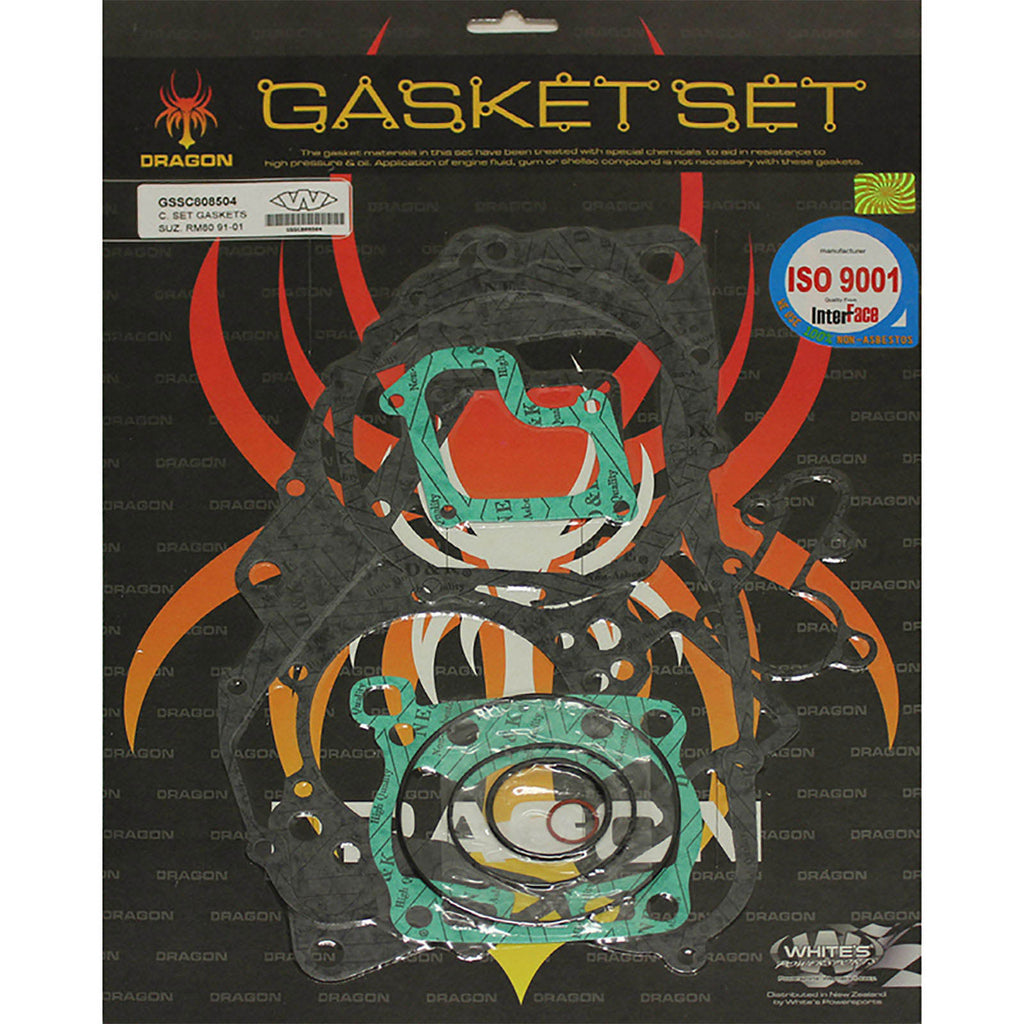 WHITES GASKET SET COMPLETE SUZ RM80 91-01