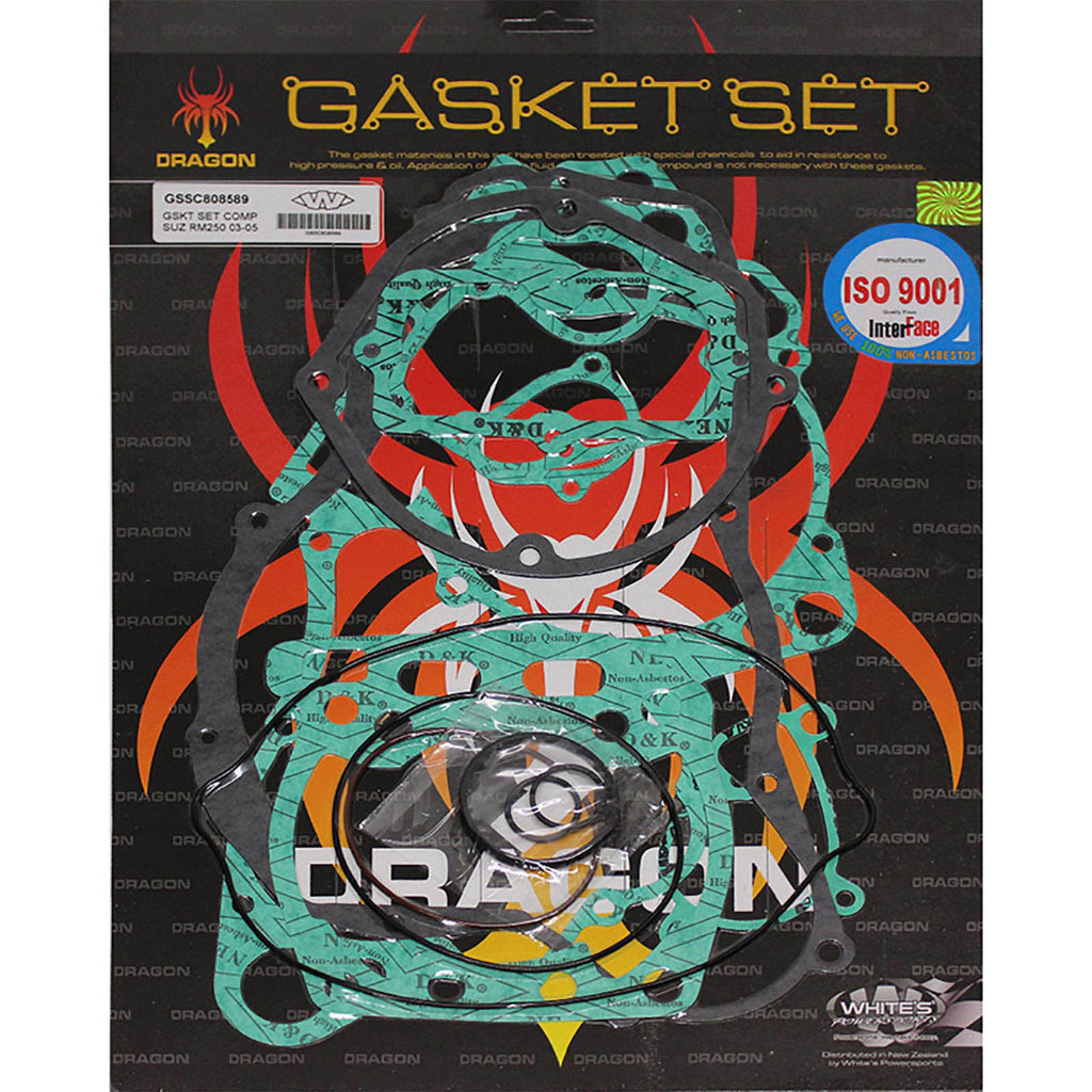 WHITES GASKET SET COMPLETE SUZ RM250 03-05