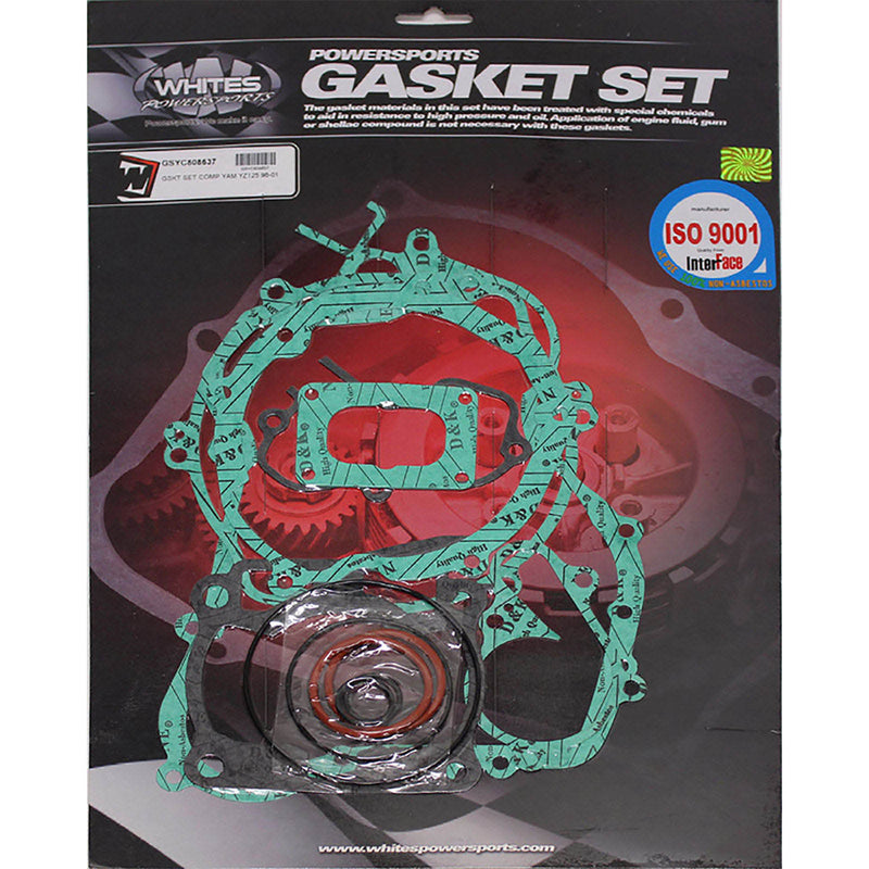 WHITES GASKET SET COMPLETE YAM YZ125 98-01