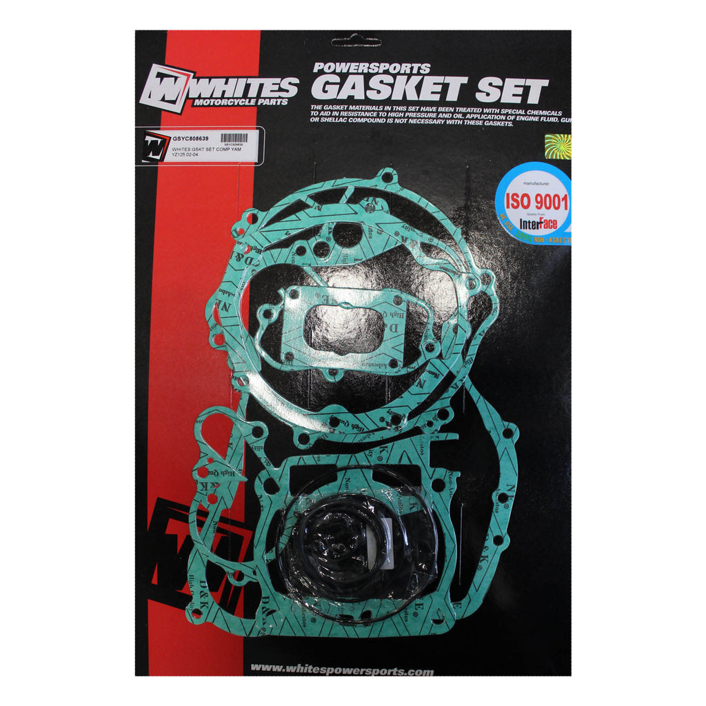 WHITES GASKET SET COMPLETE YAM YZ125 02-04