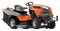 Husqvarna TC 342 Lawn Tractor - Grass collecting