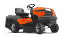 Husqvarna TC130 Lawn Tractor - Grass collecting