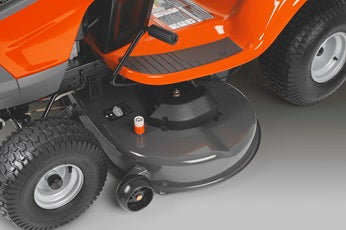 Husqvarna TC238 Lawn Tractor - Grass collecting