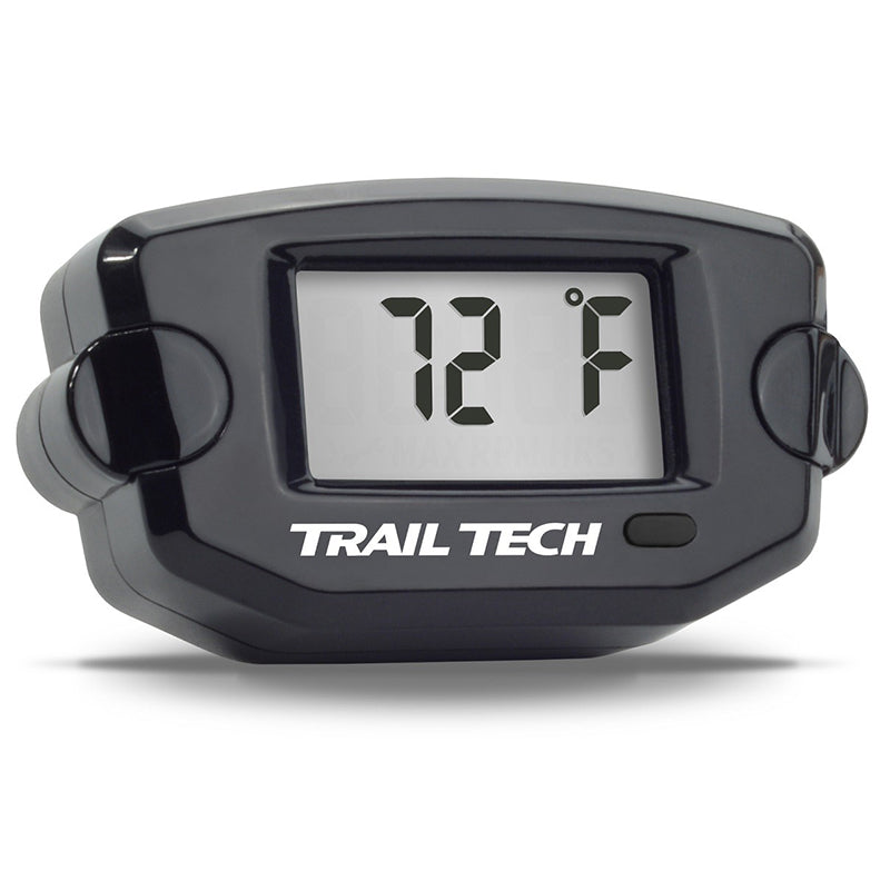 TRAIL TECH TTO - TEMP METER 12mm SPARK PLUG - BLK