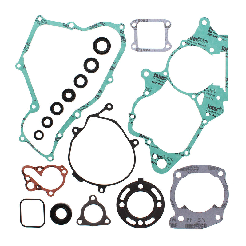 VERTEX COMPLETE GASKET SET W/ OIL SEALS HON CR85R/RB 03-04