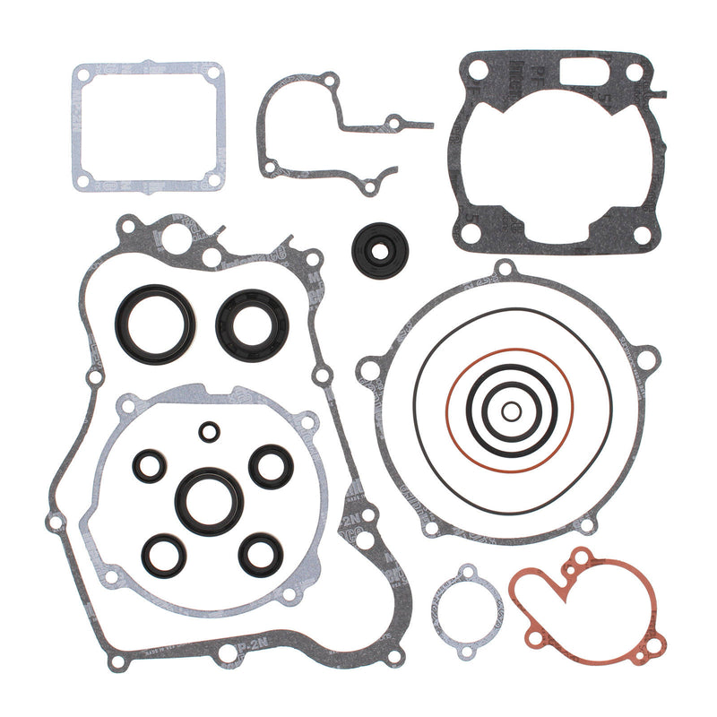 VERTEX COMPLETE GASKET SET W/ OIL SEALS YAM YZ125 89