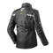 REVIT FRC009 Nitric 2 Rain Jacket Black Rear