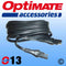 TM-SAE73 - OptiMate SAE Extension Lead - 4.6m STD