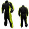 RJ-TJ0015BKYE(size) -  Rjays Tempest rainsuit in black and yellow colourway