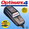 Optimate 4 - Dual program designed for modern 12V starter batteries from 2.5 to 50 Amp-hours