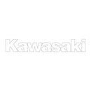 700.1025 Kawasaki Side Logo White