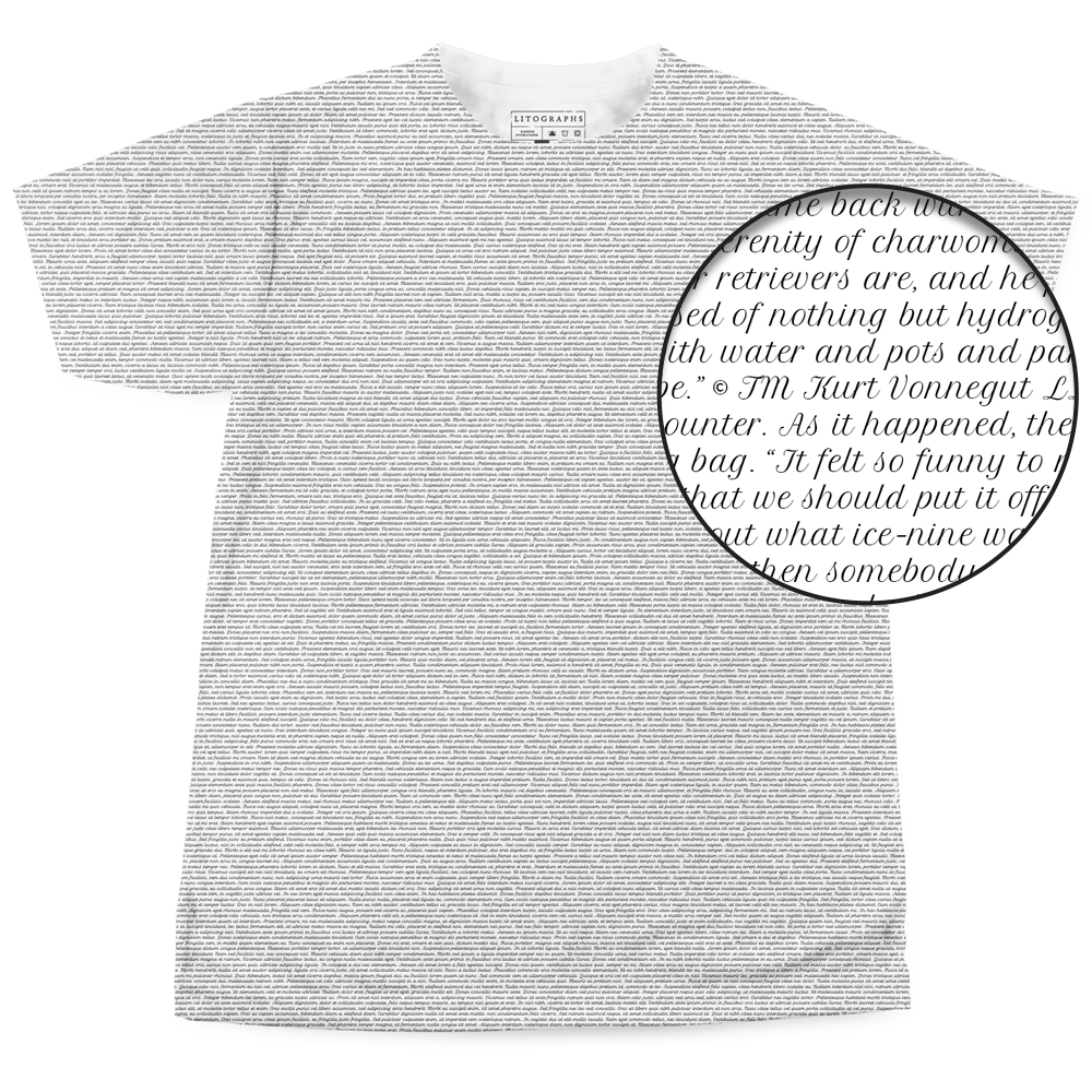 9e72f035a Litographs | Cat's Cradle | Book T-Shirt