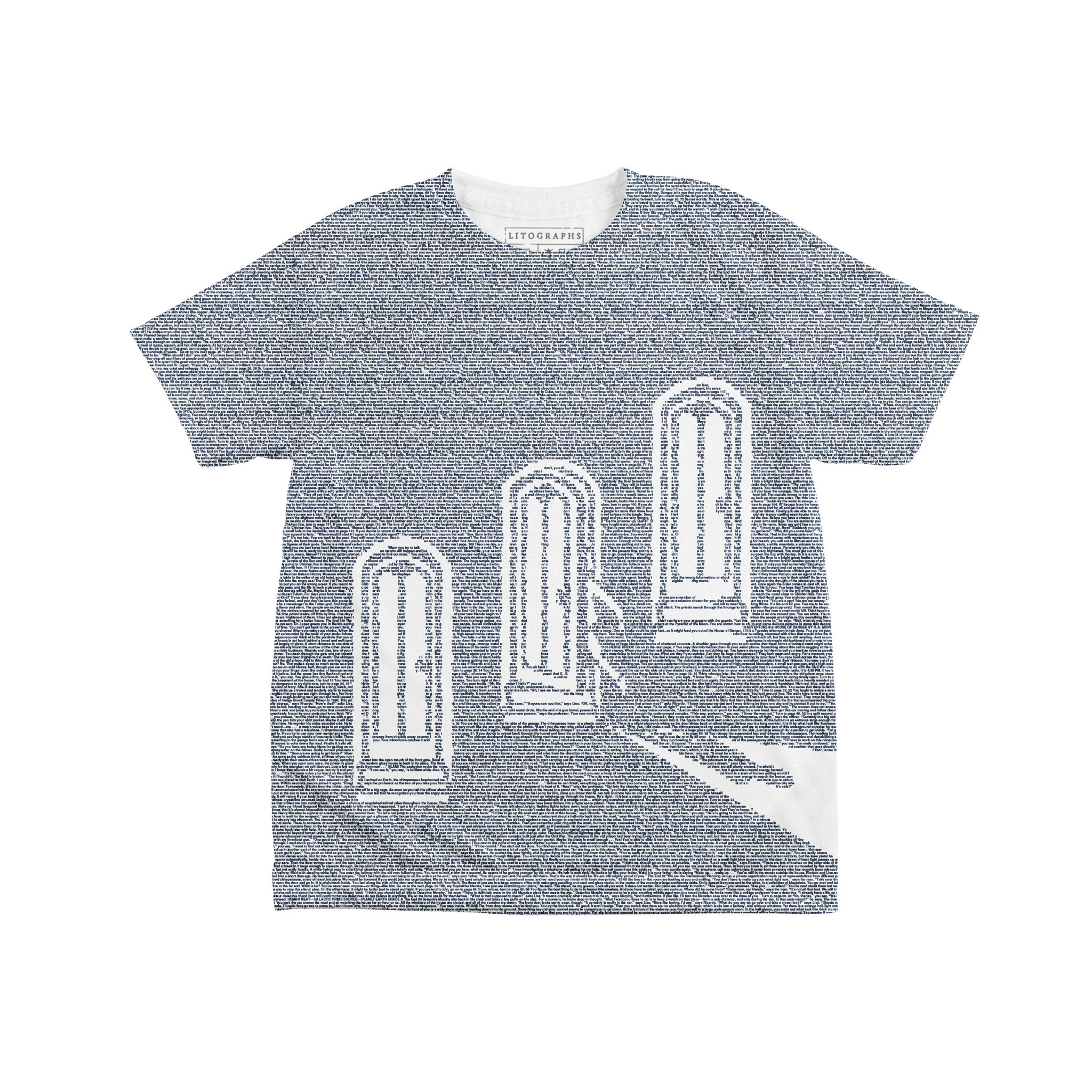 Litographs Choose Your Own Adventure Book T Shirt